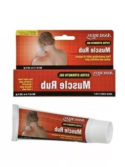 Muscle Rub Pain Relief Gel Extra Strength Neck Shoulder Arth