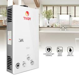 Natural Gas NG 4.2 GPM Digital Display Instant Tankless 16L/