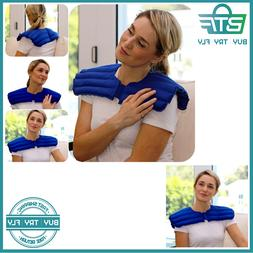 My Heating Pad- Neck & Body Wrap - Natural Muscle Pain, Stre