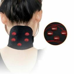 Neck Brace Belt Self-heating Magnetic Therapy Support Wrap P