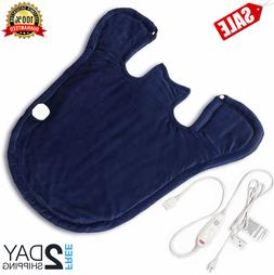 Extra Large Neck and Shoulder Heating Pad, Electric Heating