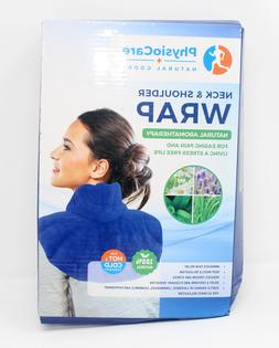 Neck and Shoulder Wrap - Natural Moist Heat Therapy for Musc