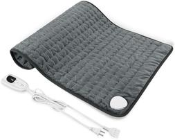 """New 12"""" x 24"""" Heating Pad, Electric Heating Pad for Moist  D"""