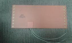 NEW Watlow 28 VDC 140 Watt Silicone Rubber Flexible Heating