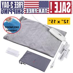 NEW Heating Pad Dry/Moist Electric Heat Therapy for Back Kne