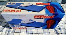 NEW CONAIR KING SIZE MOIST / DRY HEATING PAD  WITH AUTO-OFF