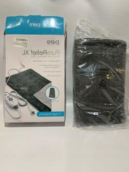 new purerelief xl king size heating pad