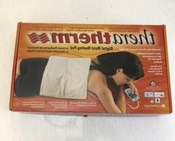 New Chattanooga Theratherm Digital Moist Heating Pad, Large/