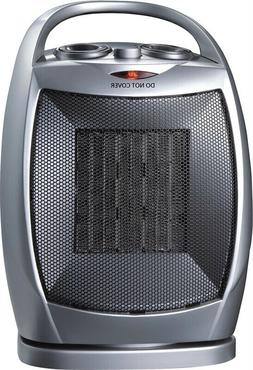 PowerZone Oscillating Heater Fan With Thermostat 750 1500 W