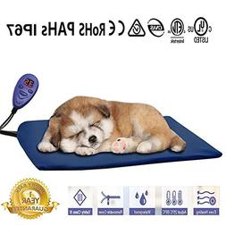 Pet Dog Cat Electtric Heating Pad Warming Mat Bed Removable