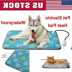 Pet Dog Warm Electric Heat Heated Heating Heater Waterproof