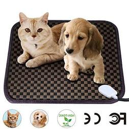 Pet Electric Heating Pad Waterproof Heat Mat Cushion Puppy D