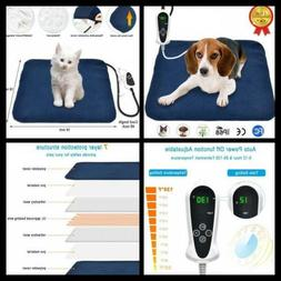 RIOGOO Pet Heating Pad, Electric Heating Pad for Dogs and Ca