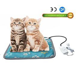 Pet Heating Pad, Dog Cat Electric Heating Pad Waterproof Adj