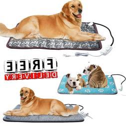 Pet Heating Pad Cat Dog Heated Bed Waterproof Mat Electric C