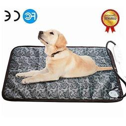 RIOGOO Pet Heating Pad Large, Dog Cat Electric Heating Pad I