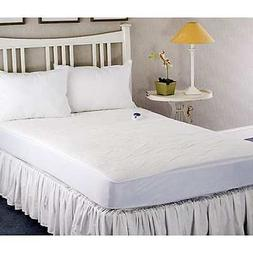 Plush Heated Electric Twin-size Mattress Pad