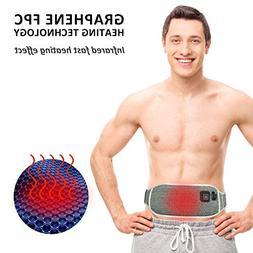 Liiva Portable Waist Heating Pad Belt 3 Heat-Settings Graphe