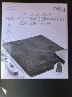 Pure Enrichment PureRelief XXL Ultra-Wide Microplush Heating