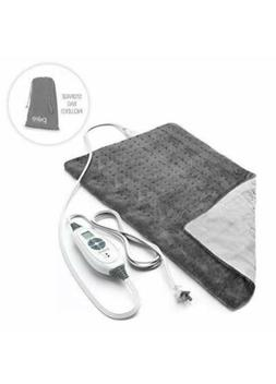 PureRelief XL King Size Heating Pad with Fast-Heating Techno