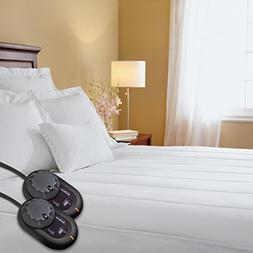 Sunbeam Heated Mattress Pad | Quilted, 10 Heat Settings, Que