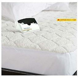 Pure Warmth Quilted Heated Mattress Pad Cal King