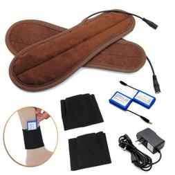 Rechargeable Battery Powered Electric Heated Winter Insole S