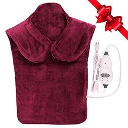Relief Massaging Heat Wrap Massage Heating Pad Flannel Relie
