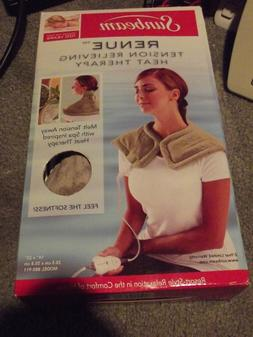 Sunbeam Renue Heat Therapy Neck and Shoulder Heating Pad Sho