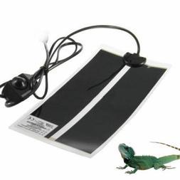 Reptile Vivarium Heat Mat Heating Warm Heater Pad Thermostat