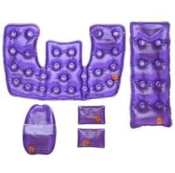 Reusable 5 Hot & Cold Packs Heating Pads Back Neck/Shoulders