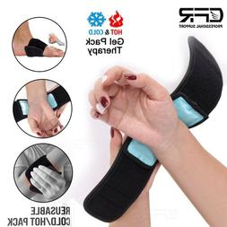 Reusable Hot & Cold Compress Wrap First Aid Heat Pad for Wri