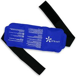 Pain Relief Flexible Ice Pack for Injuries by TheraPAQ | Hot