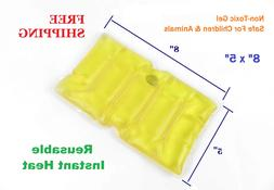 reusable instant heat pack pad sore back
