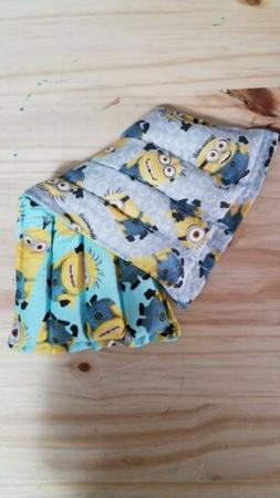 Rice-flax seed Therapeutic Heating/cooling Pad Minions