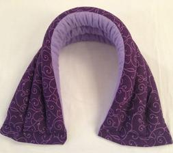 RICE PACK / NECK WRAP / HEATING PAD / HEAT PAD/ LAVENDER OR