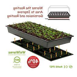"Seedling Heat Mat, 10"" x 20"" Waterproof Durable Germination"