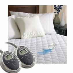 Sunbeam SelectTouch Waterproof Quilted Electric Heated Mattr