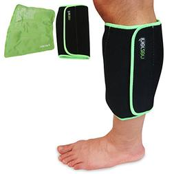 Inerzen Shin and Calf Support Hot and Cold Gel Therapy Wrap