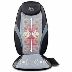 SNAILAX Shiatsu Back Massagers With Heat - Gel Nodes, Deep K