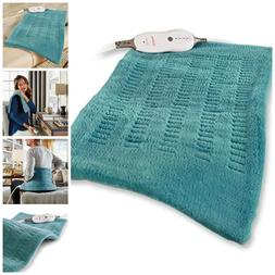 Soft Micro Plush Electric Heating Pad Heat Therapy With Cont
