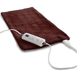 Sunbeam King Size Moist/Dry Heat Heating Pad with LED  Assor