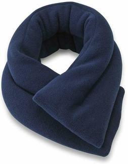 Sunny Bay Extra Long Heated Neck Wrap, Blue, 2.5 Pound