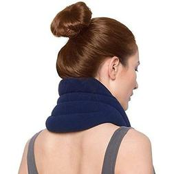 Sunny Bay Heating Pads Hands-Free Unscented Neck Wrap, Navy