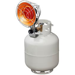 ProCom Tank-Top Propane Heater - Single Burner, 15,000 BTU,