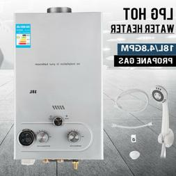 Tankless Hot Water Heater Natural Gas NG 4.8 GPM On-Demand W