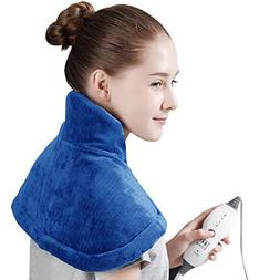 Tech Love Electric Heating Pad for Neck Shoulder and Upper B