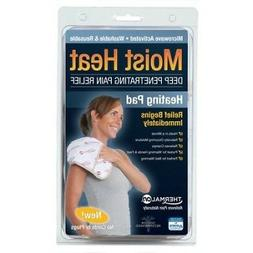 THERMAL ON Moist Heating Pad, Relieves Sore Muscle Pain, Was