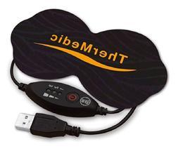 Thermedic TM-U52, Qi-Point Heating Pad with USB AC Adapter