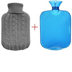 All one tech Transparent Classic Rubber Hot Water Bottle wit
